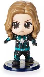 Captain Marvel Cosbaby Bobble Head Doll Figure