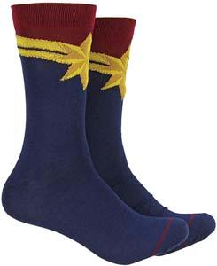 Captain Marvel Crew Socks