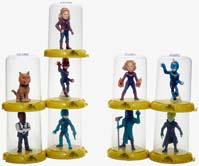 Captain Marvel Domez Blind Bag Collectible Mini Figures Series 1