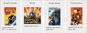 Captain Marvel Graphic Novels Series And Single Issue Comics On Comixology