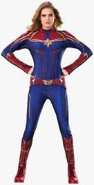 Captain Marvel Hero Suit Costume