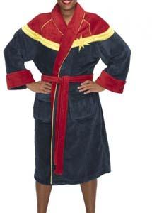 Captain Marvel I'm Not Gonna Fight Your War Bathrobe