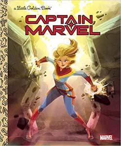 Captain Marvel Little Golden Book