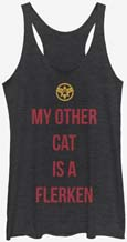 Captain Marvel My Other Cat Is A Flerken Tank