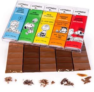 Charlie Brown Chocolate Bars