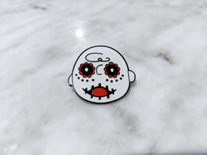 Charlie Brown Day Of The Dead Pin