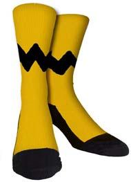 Charlie Brown Ripple Socks