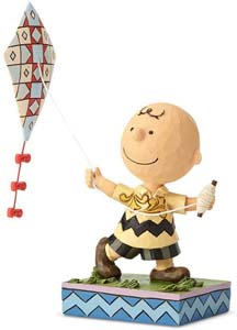Charlie Brown And The Kite Figurine