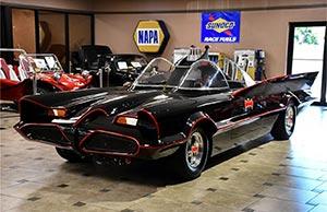 Classic Custom Batmobiles