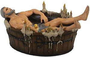 Dark Horse Deluxe Witcher 3 Geralt In Bath Statuette