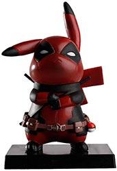 Deadpool Pikachu Figurine