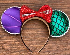 Dinglehopper Little Mermaid Ears