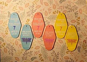 Dragonfly Inn Hotel Keychain