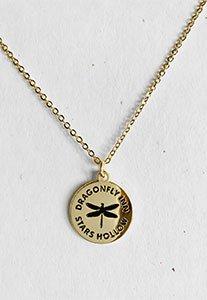 Dragonfly Inn Pendant Necklace