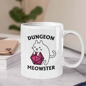 Dungeon Meowster Mug