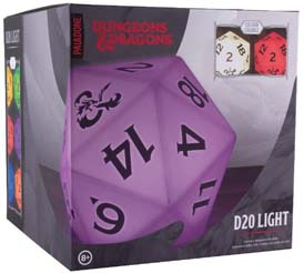 Dungeons And Dragons D20 Color Changing Light