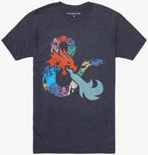Dungeons And Dragons Logo T Shirt