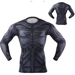Ekarlam 3d Marvels Shirts Men Compression Long Sleeve Quick Dry Superhero Jersey T Shirt