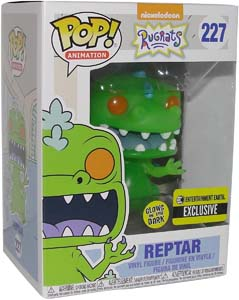 Funko Pop! Reptar Glow In The Dark Entertainment Earth Exclusive