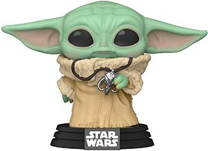 Funko Pop Star Wars The Mandalorian The Child With Necklace Vinyl Figure