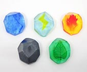 Gen 1 Pokemon Evolution Stone Set