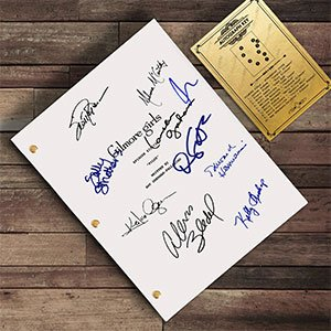 Gilmore Girls Signed Script Reprint