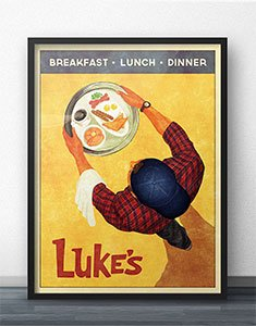 Gilmore Girls Vintage Inspired Posters