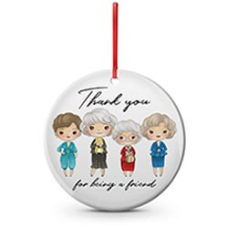 Golden Girls Ceramic Ornament