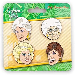 Golden Girls Enamel Pin Set
