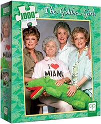 Golden Girls I Heart Miami Puzzle