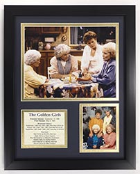 Golden Girls Legends Never Die Framed Photo Collage