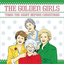 Golden Girls Twas The Night Before Christmas Book