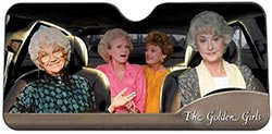 Golden Girls Windshield Sun Visor