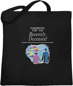 Handbook For The Recently Deceased Canvas Bag