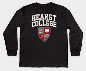 Hearst College Kids Long Sleeve Tee