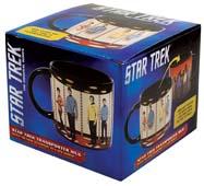 Heat Reveal Star Trek Transporter Mug