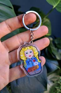 Hedwig Keychain