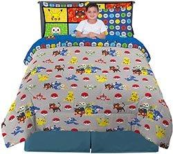 Kids Pokemon Themed Bedding Set