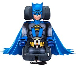 Kidsembrace 2 In 1 Harness Booster Car Seat Dc Comics Batman