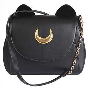 Leather Luna Crossbody Bag