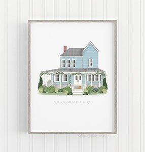 Loreleis House Art Print