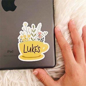 Lukes Diner Sticker