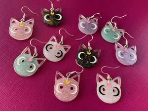 Luna Cat Earrings