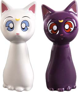 Luna And Artemis Salt And Pepper Shakers