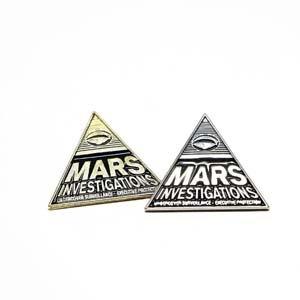 Mars Investigations Enamel Pin 2 Pack