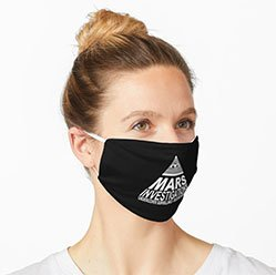 Mars Investigations Face Mask