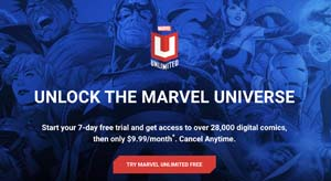 Marvel Unlimited Subscription