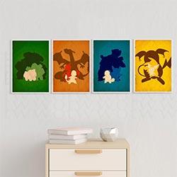 Minimalist Pokemon Posters