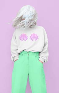 Minimalist Shell Sweatshirt
