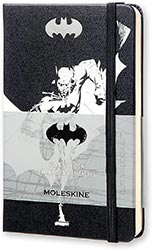 Moleskine Limited Edition Batman Notebook Hardcover 192 Pages